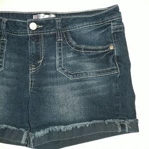 No Boundaries Shorts - No Boundaries NoBo Size 15 Stretchy Denim Shorts